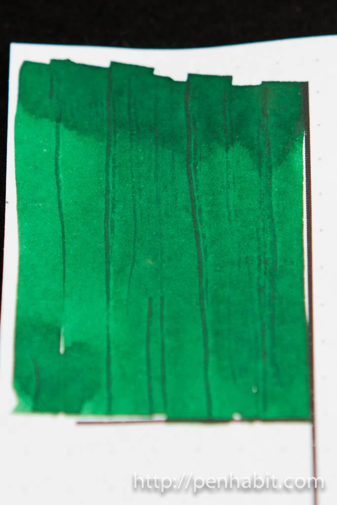 Montblanc Irish Green Swatch