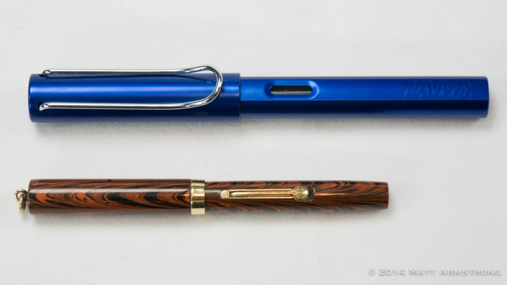 Comparison to the Lamy AL-Star
