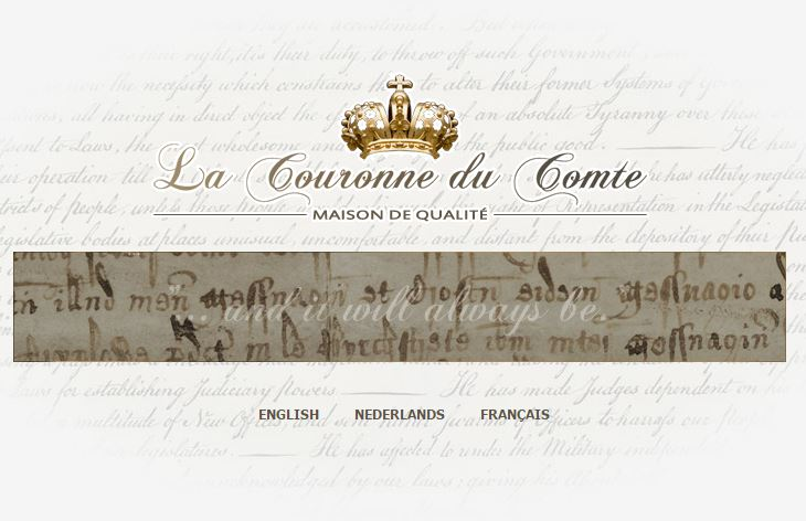 New Sponsor Welcome: La Couronne du Comte