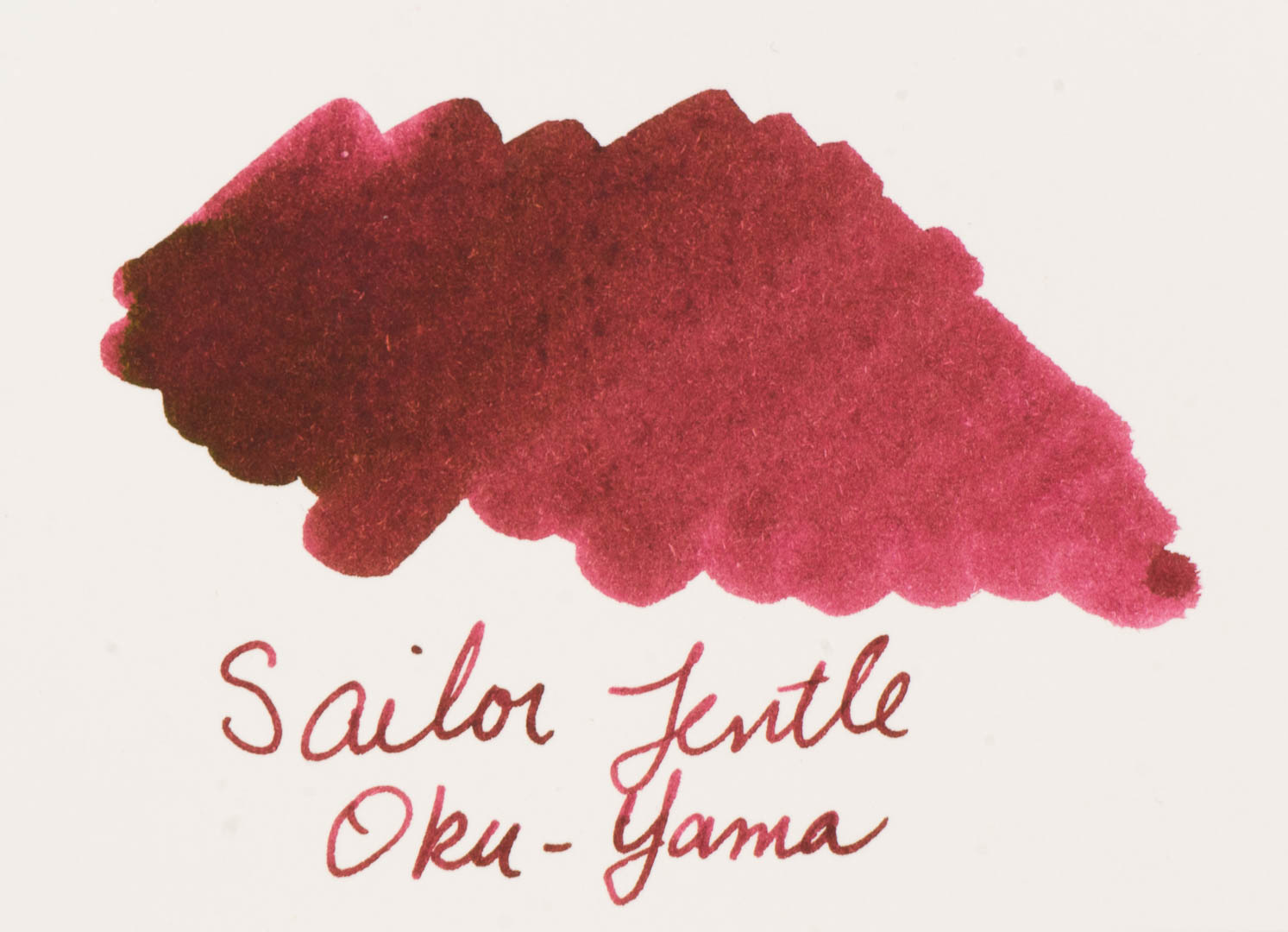 Ink Spot: Sailor Jentle Four Seasons Oku-Yama