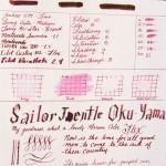Sailor Oku-Yama on Tomoe River
