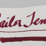 Sailor Oku-Yama on Staples Copy Paper