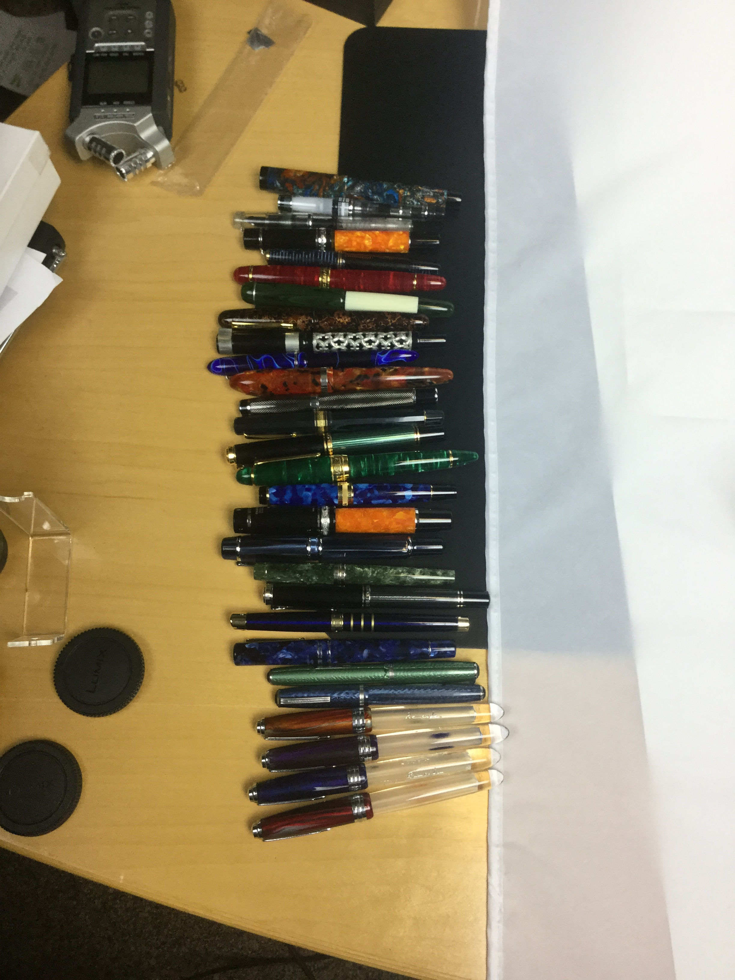 About 2/3rds of the pens that I'll be reviewing in Season 3.