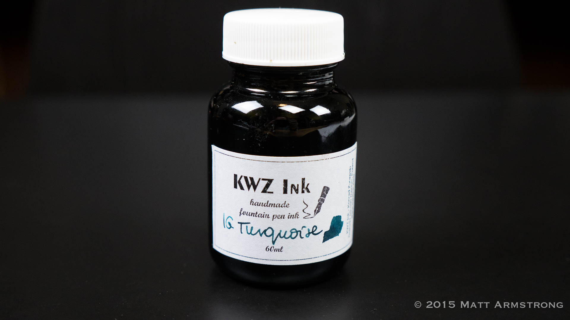 Ink Spot: KWZ Iron Gall Turquoise