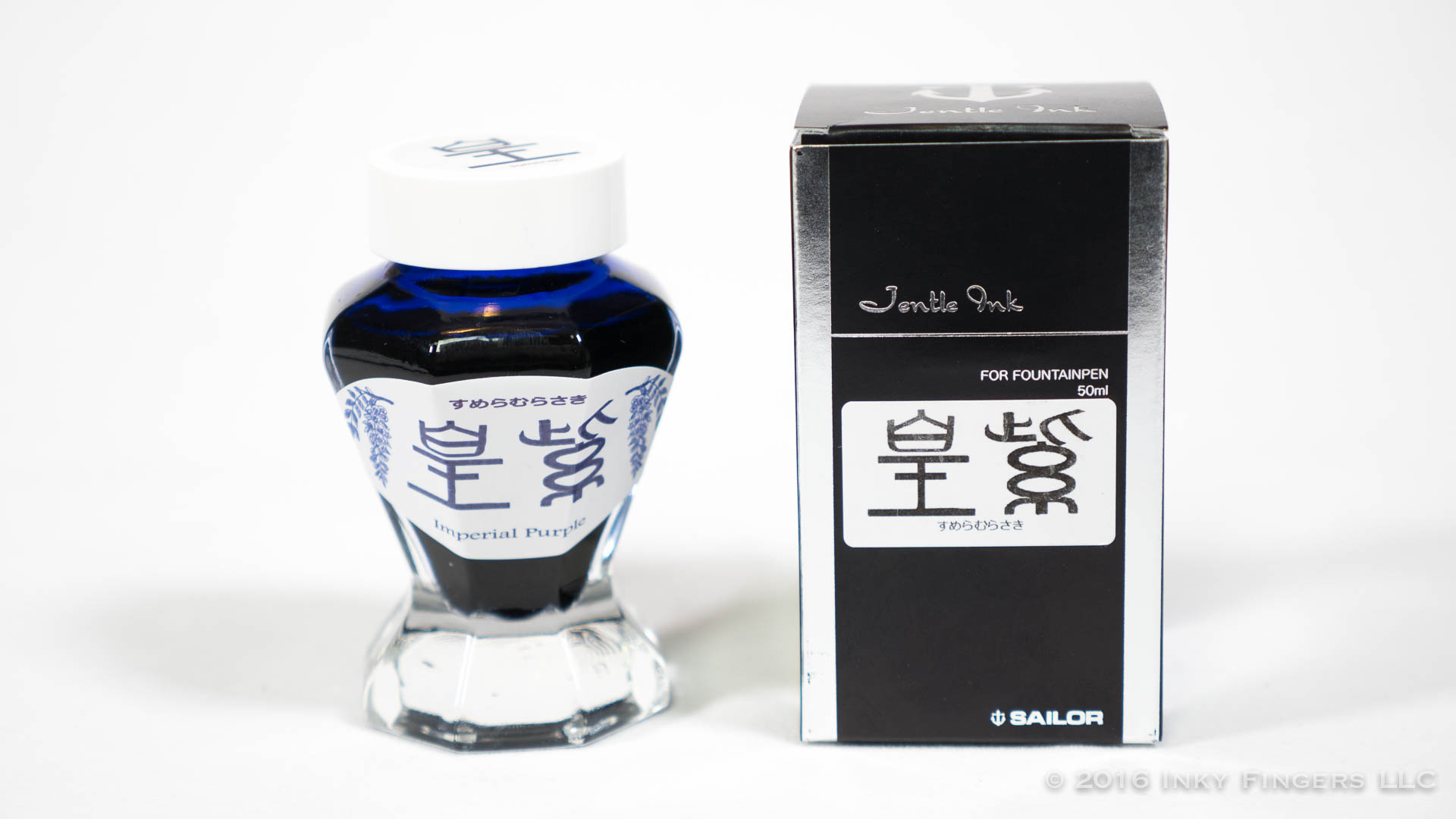 Inkspot Review: Sailor Jentle Bungbox Sumeragi Imperial Purple