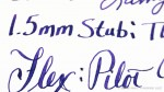Sailor Jentle Bung Box Sumeragi (Imperial Purple) on Staples Copy Paper (70gsm)