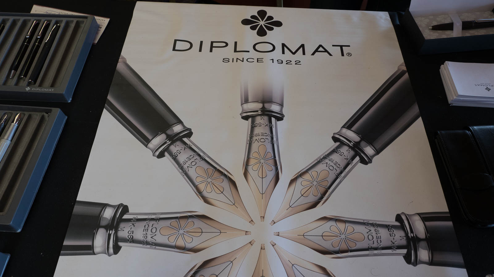 Diplomat: a German brand that's been around since 1922, but doesn't have a huge presence in the states yet.