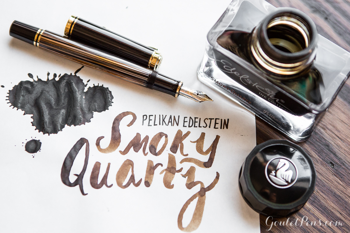 Edelstein Smoky Quartz Giveaway from @gouletpens