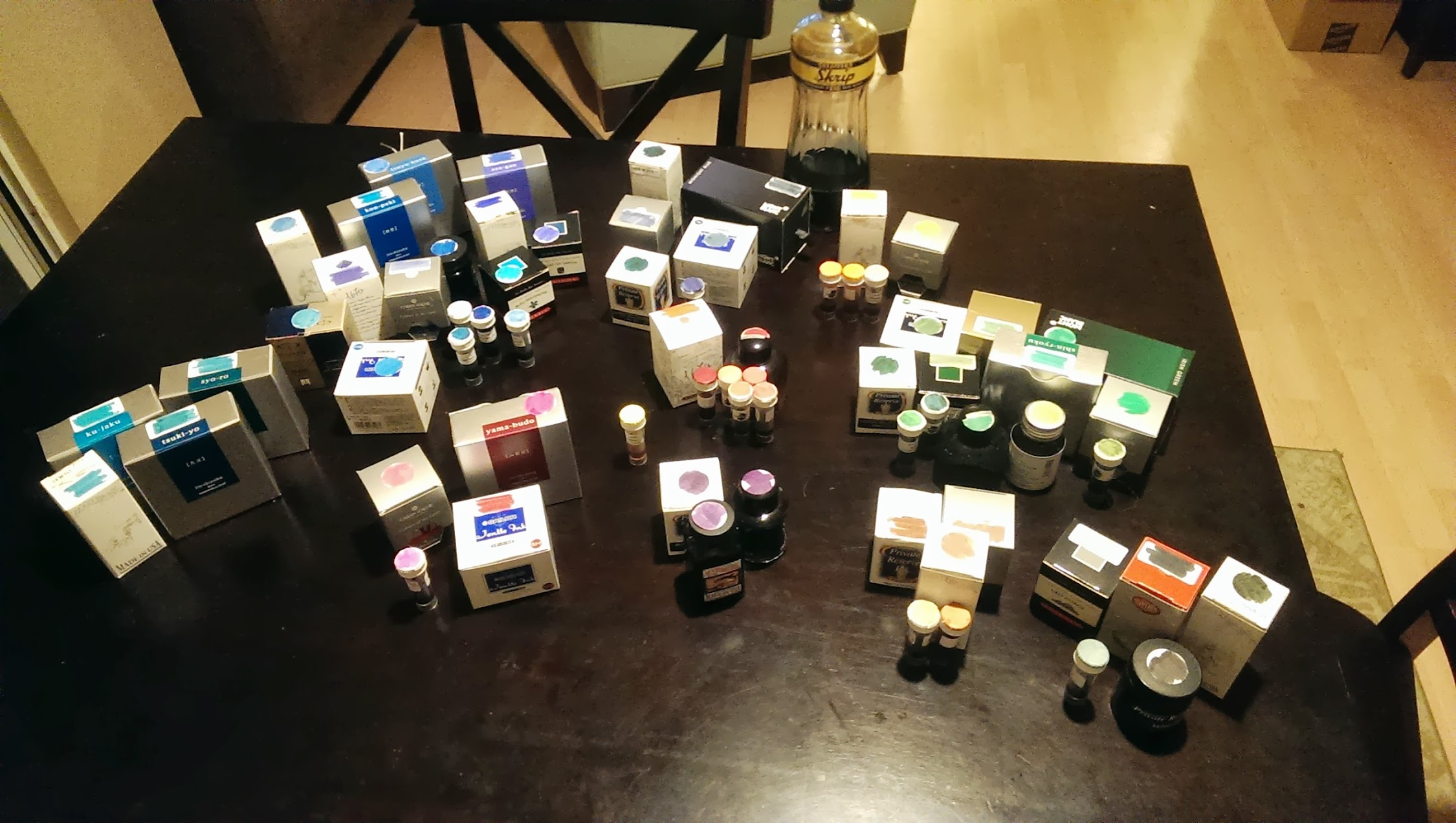Giveaway: Ink Samples Galore