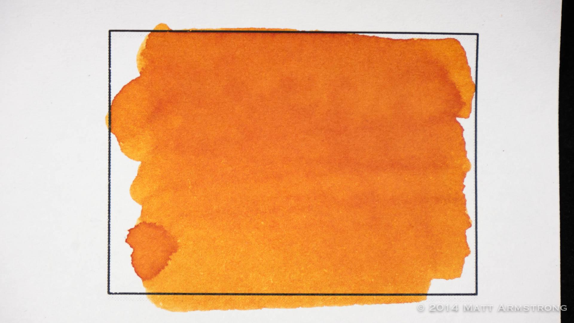Ink Review: Diamine Autumn Oak