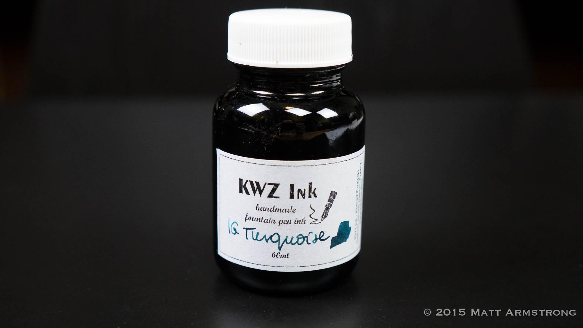 Ink Spot: KWZ Iron Gall Turquoise