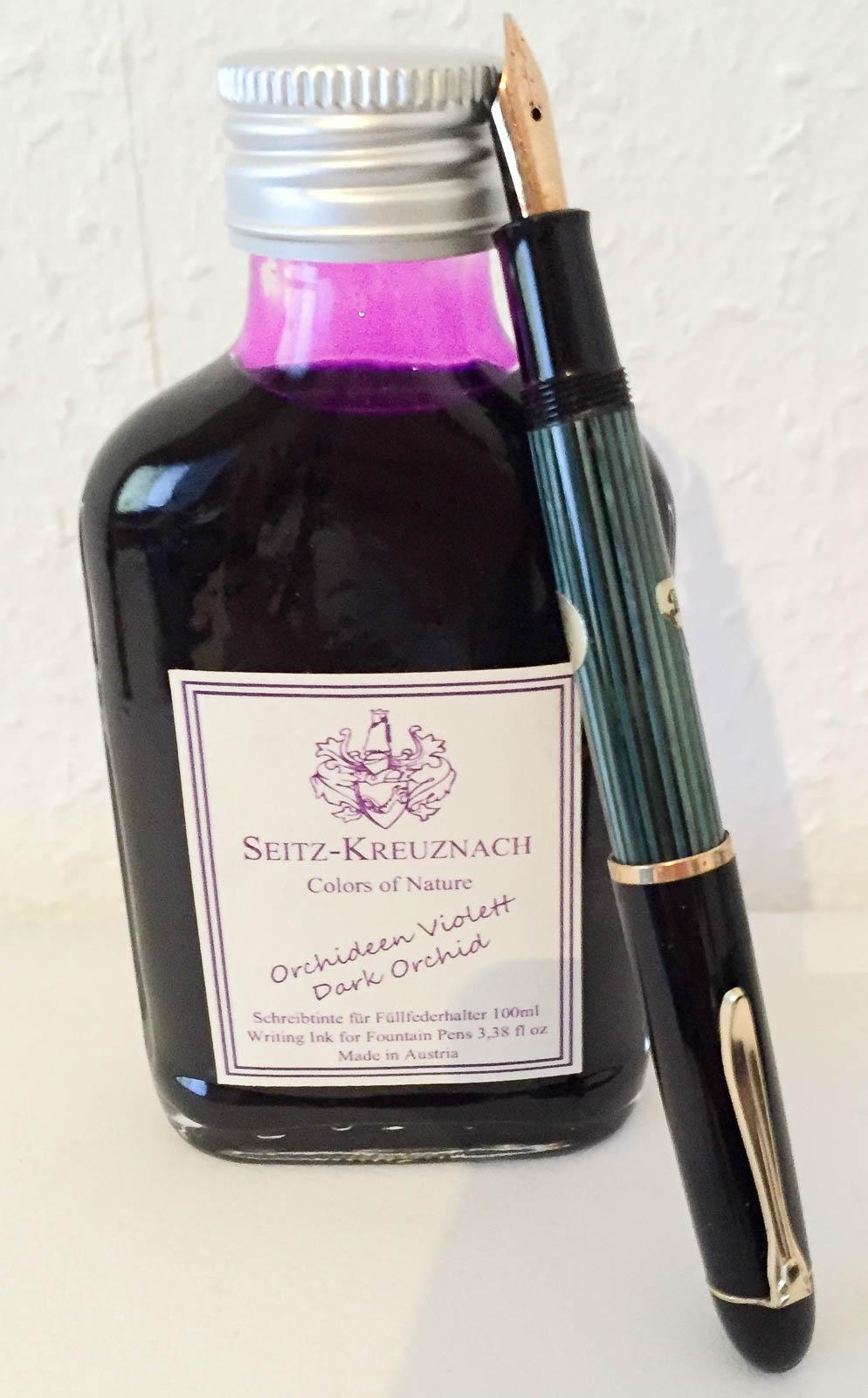 Guest Ink Review: Seitz-Kreuznach Orchideen Violett