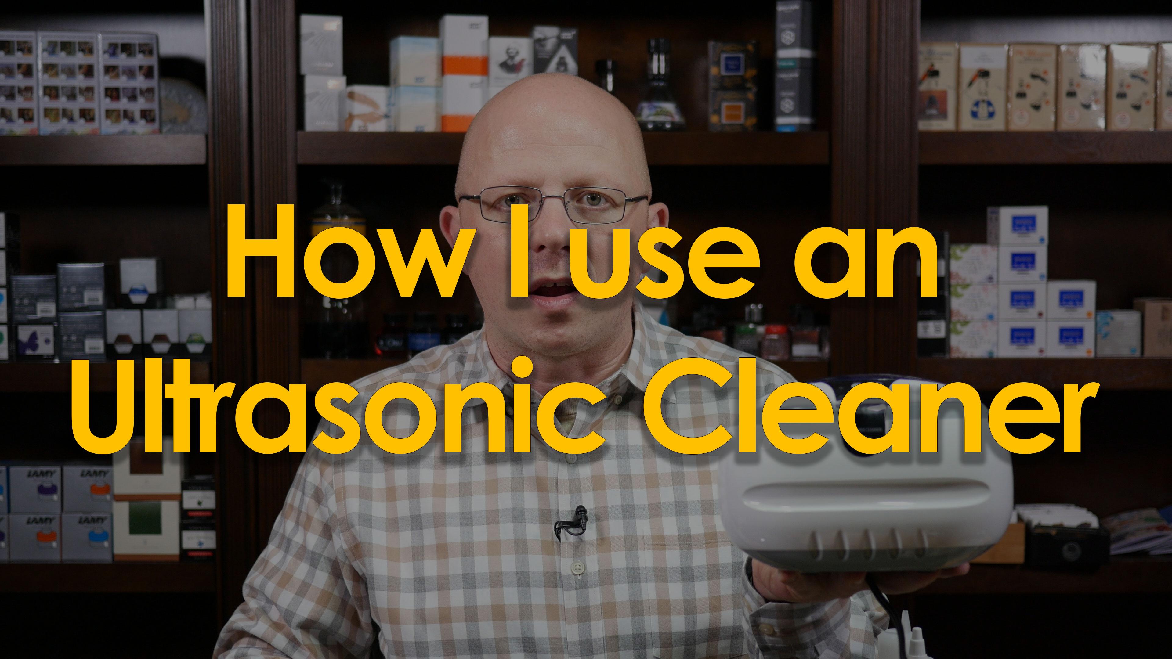 Using Ultrasonic Cleaners