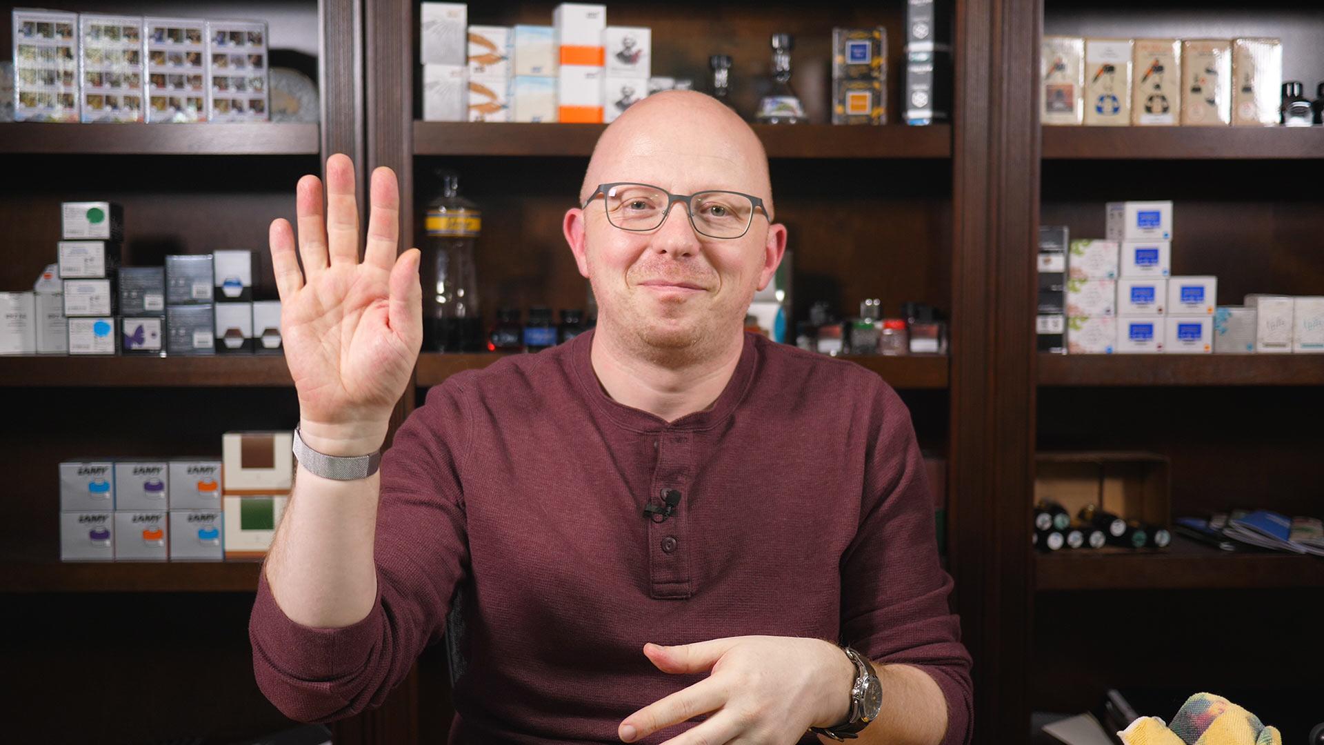 Inky Fingers